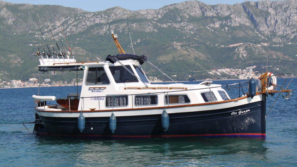 Морская рыбалка в Черногории